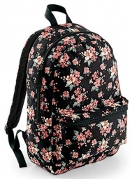 Bagbase Graphic backpack. Kleur Faded Floral