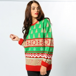 Ho ho ho - 2D adults Christmas jumper