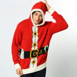 Santa - 3D adults Christmas jumper