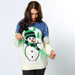 Snowman - 3D adults Christmas jumper