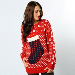 Stocking - 3D adults Christmas jumper