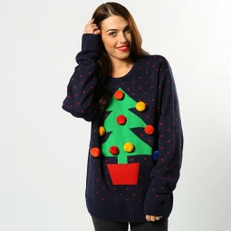 Tree - 3D adults Christmas jumper