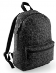 Bagbase Graphic backpack. Kleur Black Geometric