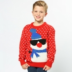 Snowman - 2D kids Christmas jumper